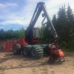 C.D. Blue Forestry - Forestry Harvester