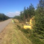 C.D Blue Forestry - Highway Mulching
