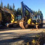 C.D Blue Forestry - Komatsu & John Deere Excavators
