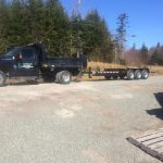 CD Blue Forestry - Ford F350 with Tilt Deck Trailer
